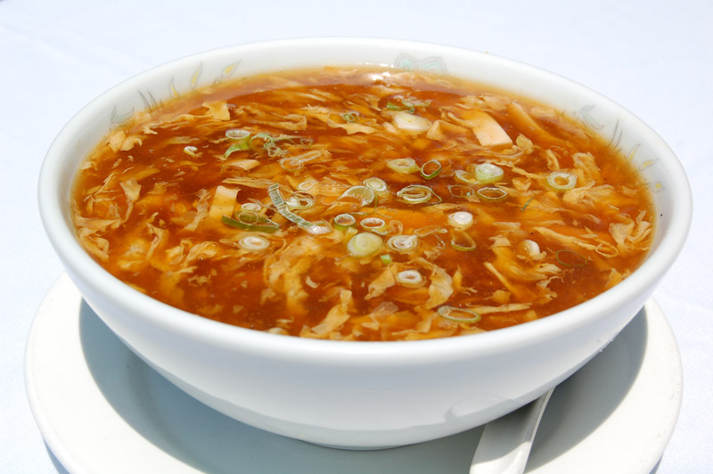 veg sweet and sour soup
